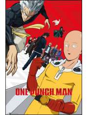 One Punch Man Sezon 2 - plakat