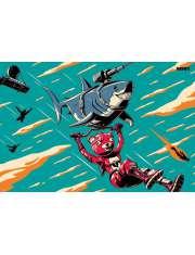Fortnite Laser Shark - plakat