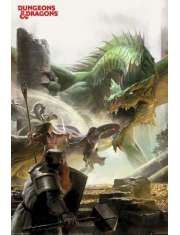 Dungeons and Dragons Adventure - plakat