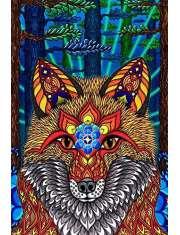 Elektryczny lis - plakat