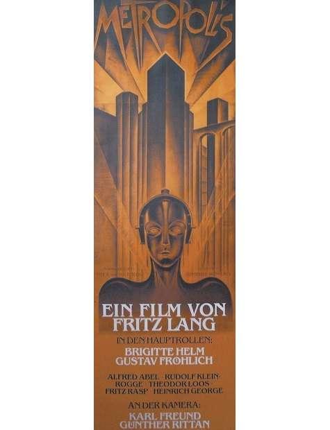 Metropolis Fritz Lang - plakat