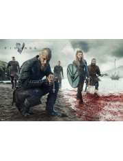Vikings Wikingowie Krew - plakat