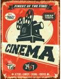 Kino - retro plakat