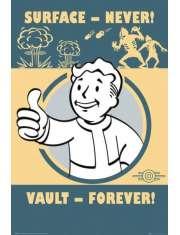 Fallout 4 Vault Forever - plakat