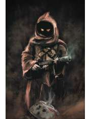 Star Wars Gwiezdne Wojny Jawa - plakat premium