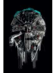 Star Wars Gwiezdne Wojny Sokół Millenium - plakat premium
