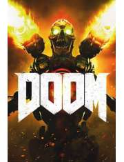Doom Key Art - plakat
