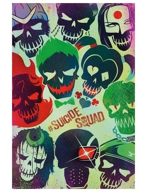 Legion samobójców Suicide Squad - plakat