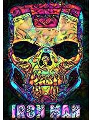 PsychoSkulls, Iron Man, Marvel - plakat