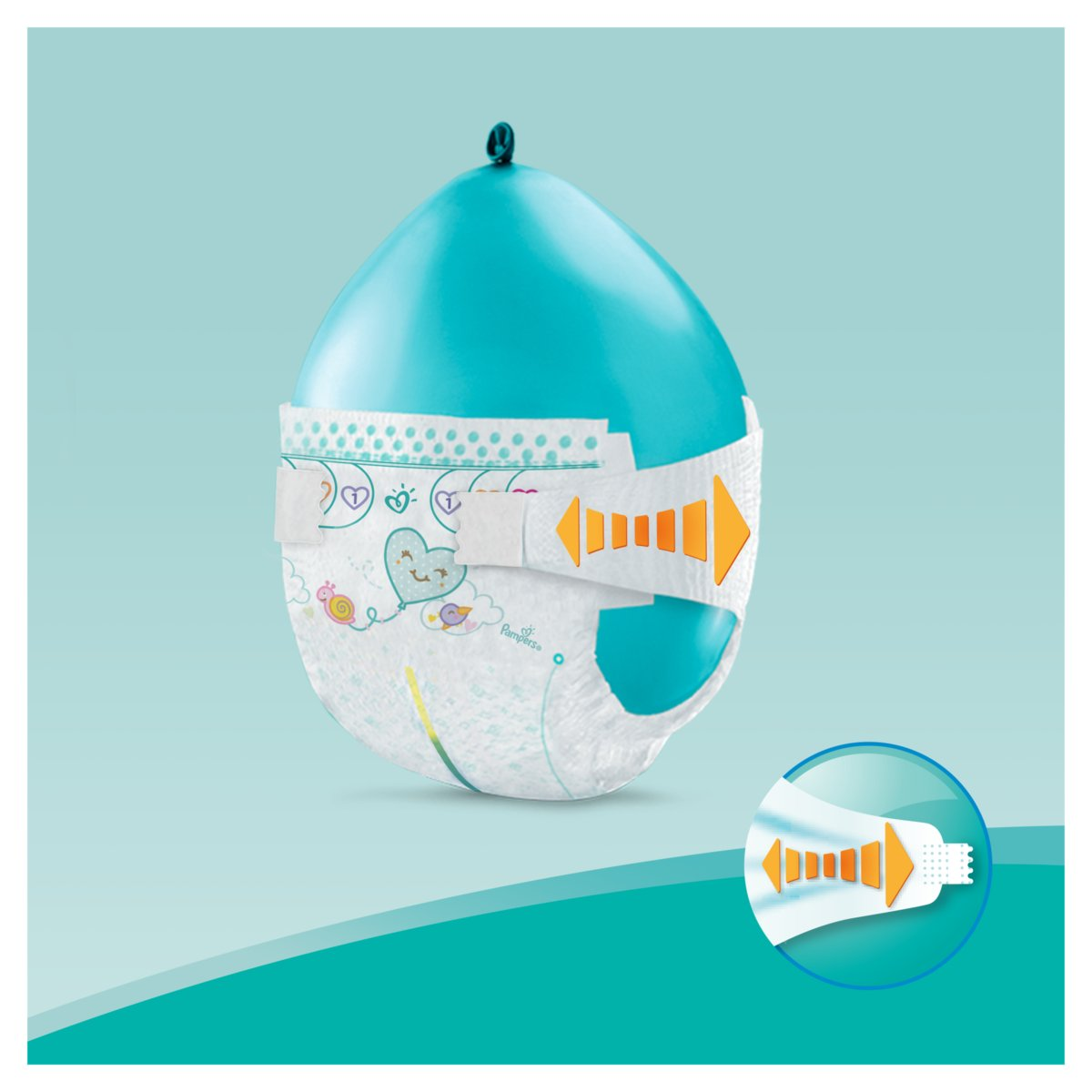 Pampers Pieluchy Active Baby 6