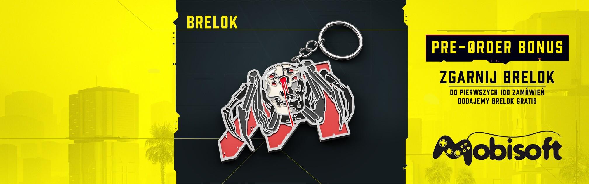 Brelok Cyberpunk 2077
