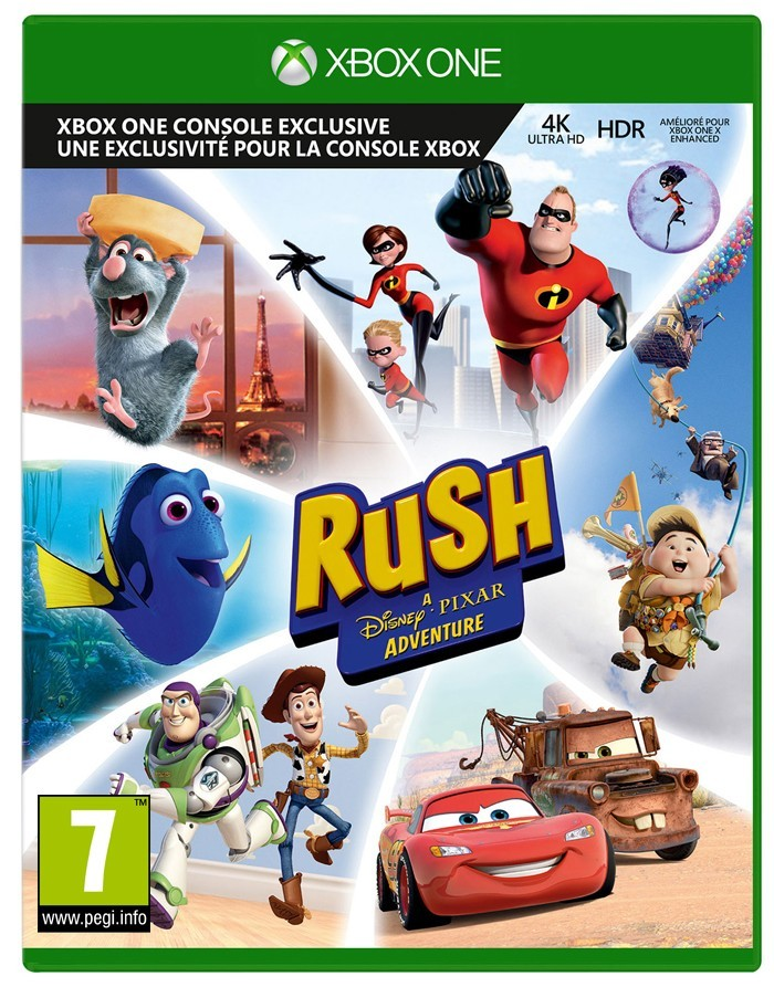 Gra Rush A Disney Pixar Adventure Xbox One