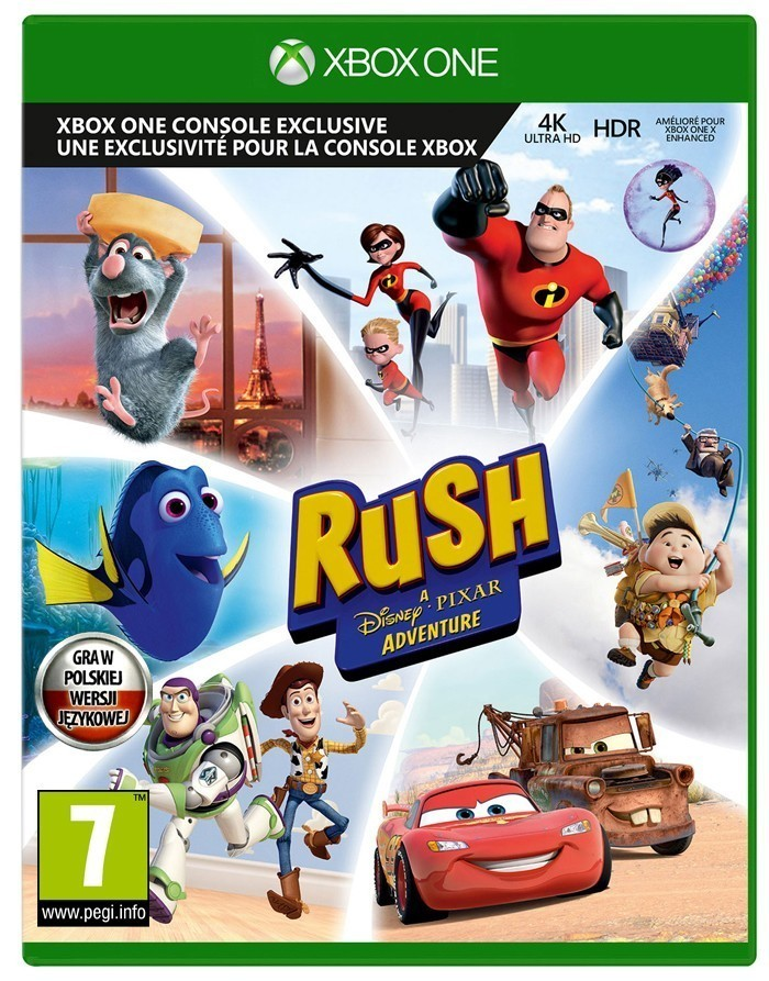 Kinect Rush Disney Pixar Adventure