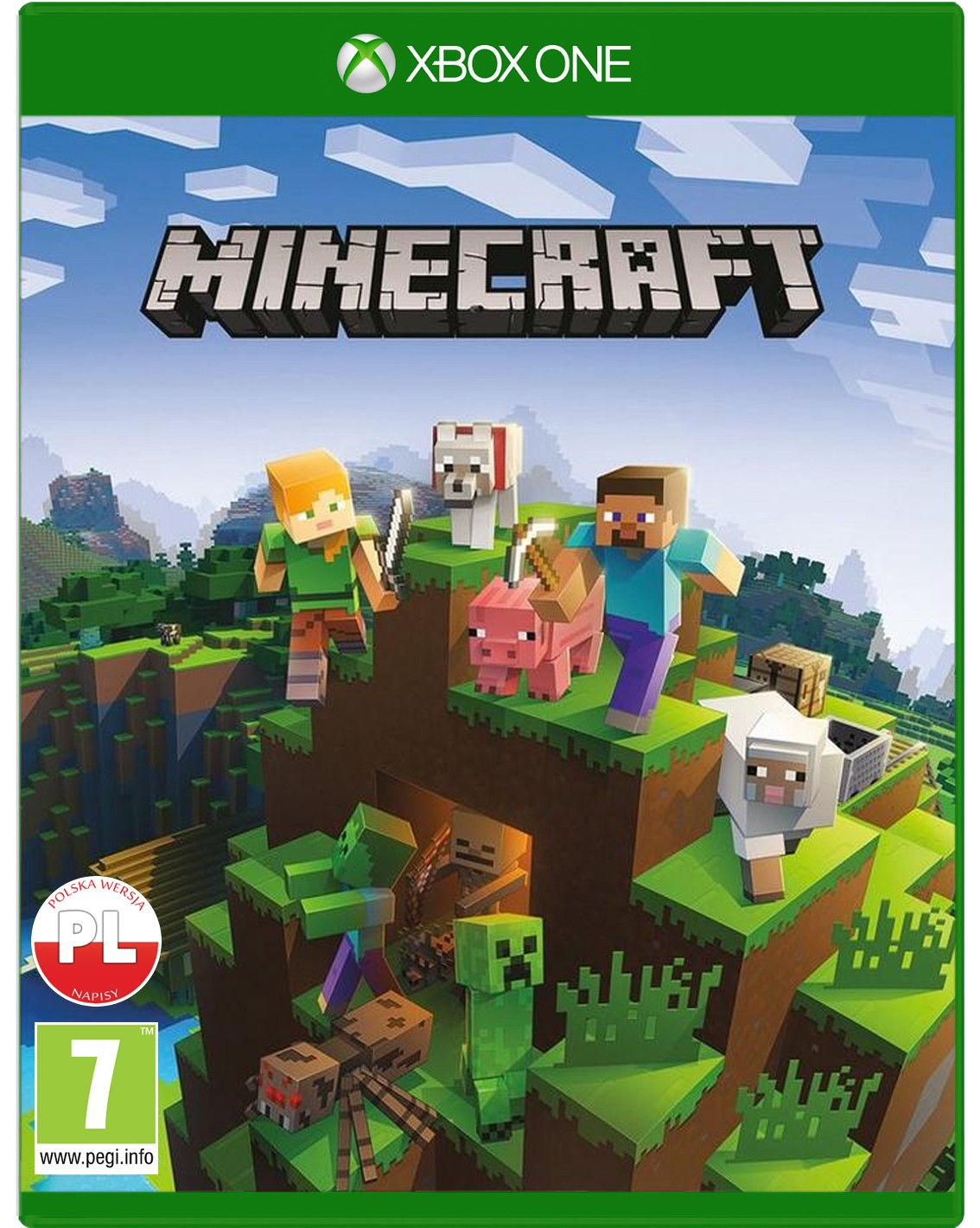 Gra Minecraft Xbox One