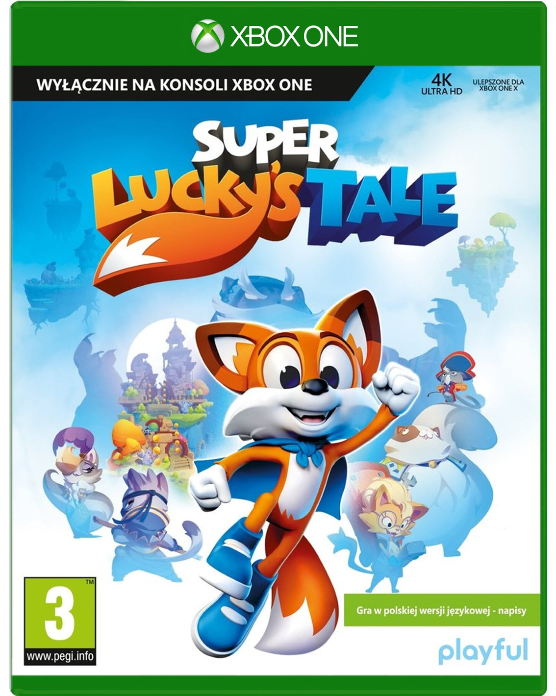 Gra Super Lucky's Tale Xbox One