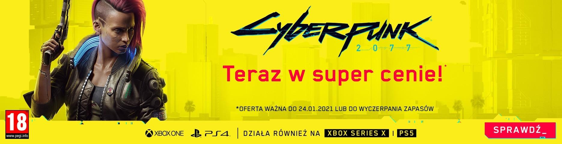 Promocja Cyberpunk 2077