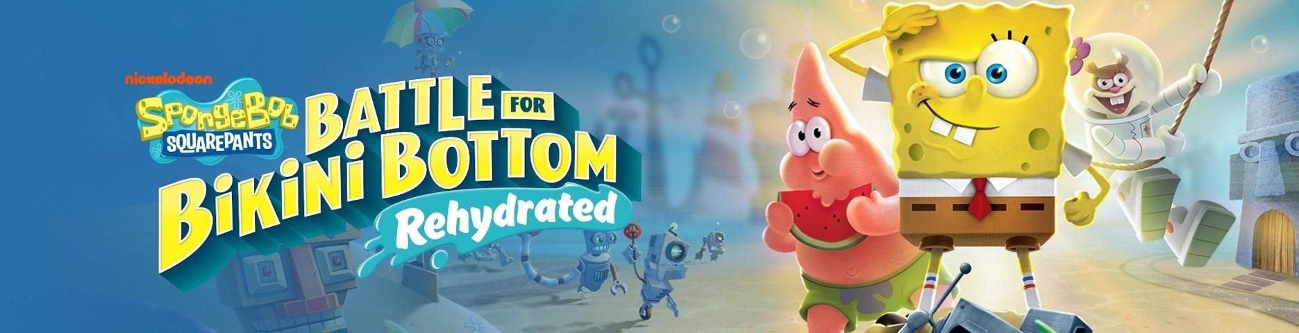 Spongebob Battle for Bikini Botom Rehydrated