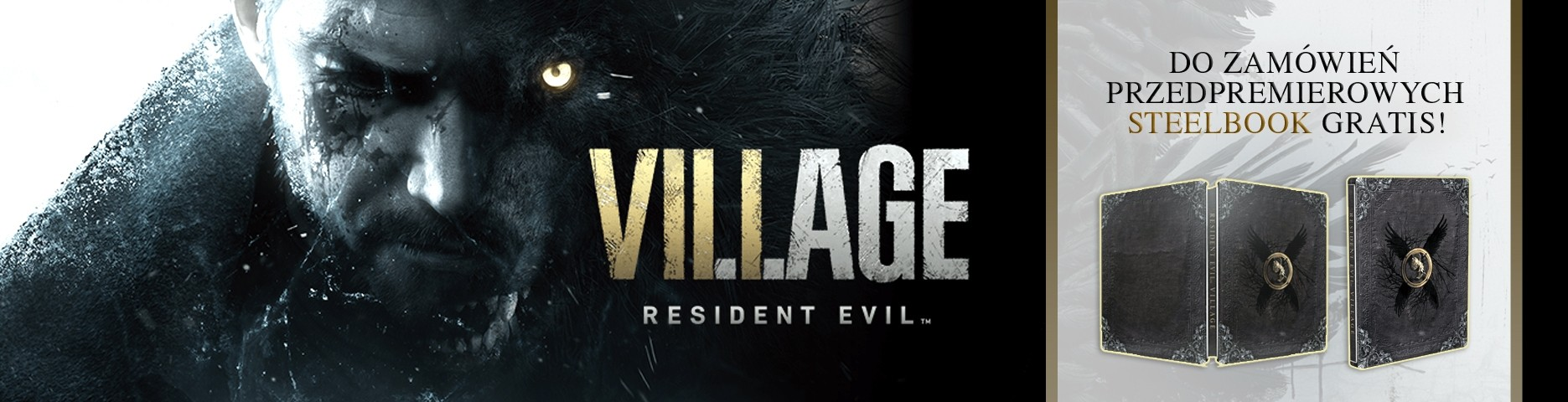 Resident Evil Village: Steelbook gratis!
