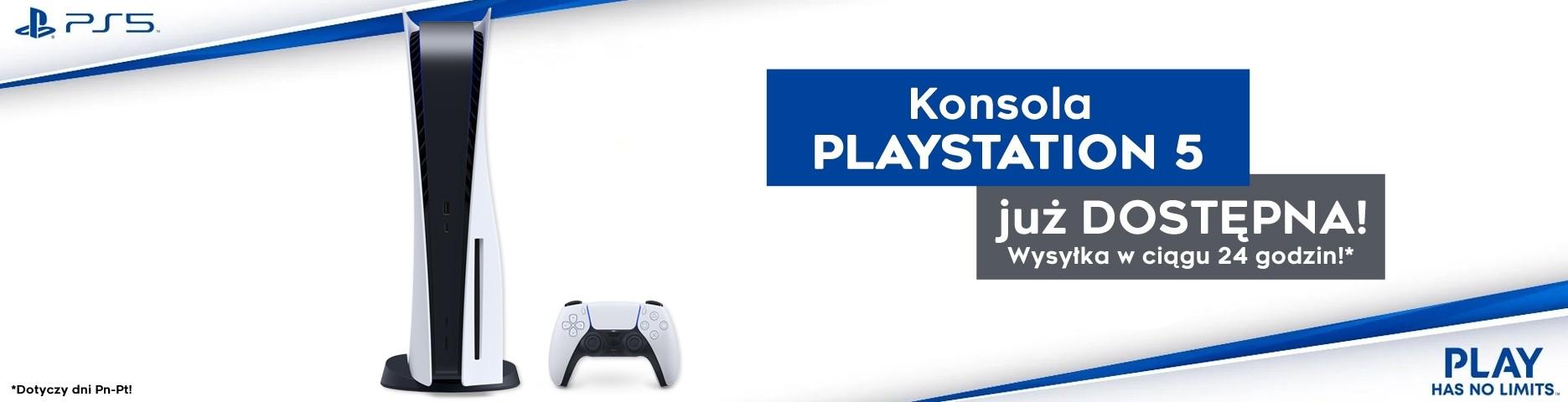 Konsola PlayStation 5 już dostępna!