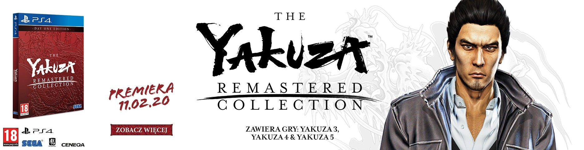 Yakuza 5 Remastered Collection